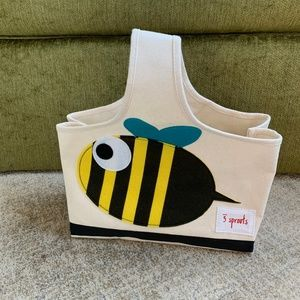 3 Sprouts Fish Baby Item Storage Caddy Organizer